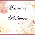 Placa de manicure e pedicure