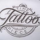 Time piece tattoo logo