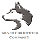 Fox logo branco infotec