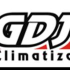 Logo gdj climatizacao