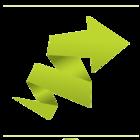 Logo seta verde