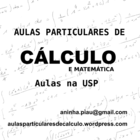 Aulas particulares de matematica e calculo