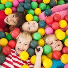 Criancas piscinas de bolas buffet infantil