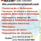 Shc construtora flyer de divulga%c3%a7%c3%a3o