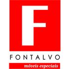 Fontalvo.moveis logo completa quadrada