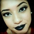 Giselimarques maquiagem gotica chic
