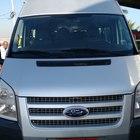 Ford transit 350l bus prata 7