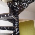 Marmorização em Escadas