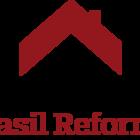 Logotipo brasil reforma horizontal sem fundo