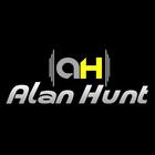 Logo marca dj alan hunt 180x180