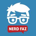 Logo nerdfaz azul