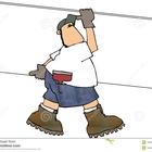 Carrying sheetrock 160997