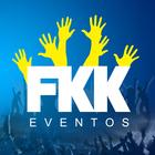 Fkk eventos logo amarelo