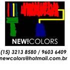 Logo newcolors com telefone