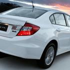 Honda civic 2013 2014 lxr 2.0 sedan traseira