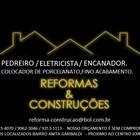 Pedreiro Reforma e Construç...