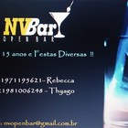 Nv Bar - o Open Bar da Sua ...
