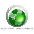 Logotipo tecnica eletrica comercial duarte