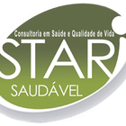Logotipo star saudavel branco