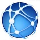 Global communications icon 580x464