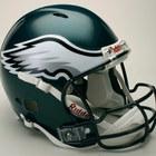 Philadelphia eagles authentic pro line revolution full size helmet 3350143