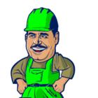 Trabalhador verde web peq