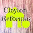 Logo cleyton reformas.