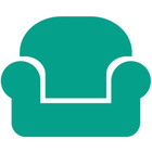 Couch icon jade