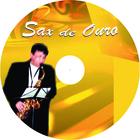 Sax de ouro rotulo de cd