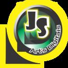 Logo js art's digitais 2014