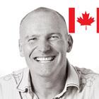 Brian w canadian flag right