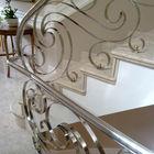 Inox railing artistic