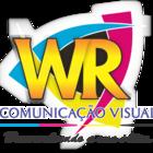Wr com. visual logo