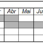 Modelo de cronograma de tcc