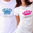 Camiseta namorados principe princesa