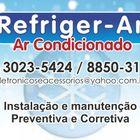 Refrigear ar condicionado frente
