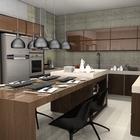 Cozinha marron 03 02 2014