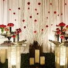 Decoracao de casamento vermelho e dourado fotos 3