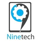 Nine logo tag