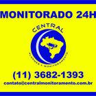 Layout   placa   monitorado   24h   central de monitoramento
